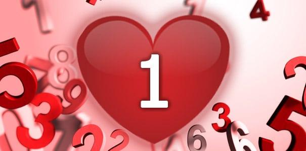 נומרולוגיה - מספר 1 באהבה