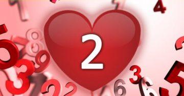 נומרולוגיה - מספר 2 באהבה