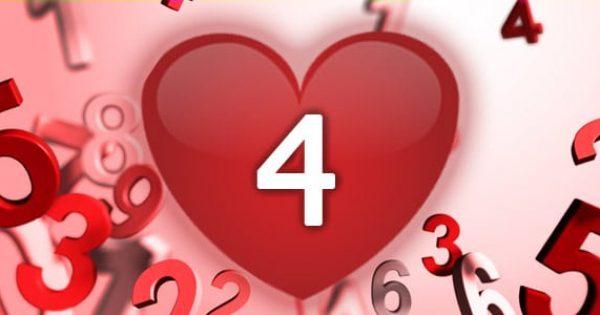 נומרולוגיה - מספר 4 באהבה
