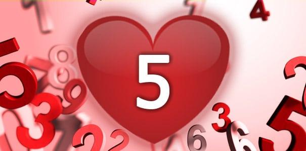 נומרולוגיה - מספר 5 באהבה