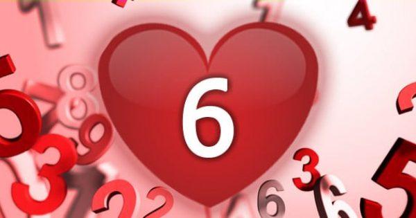 נומרולוגיה - מספר 6 באהבה