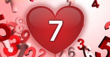 נומרולוגיה - מספר 7 באהבה